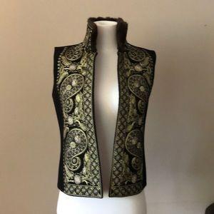 Vintage Linda Allard Ellen Tracy Wool Vest